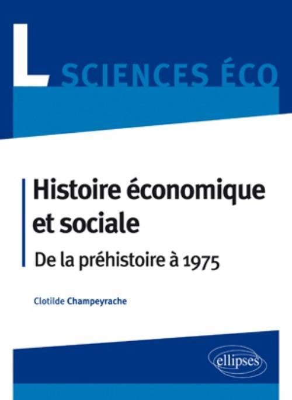 Histoire Economique Et Sociale Clotilde Champeyrache Librairie Eyrolles