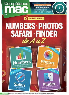Numbers, Photos, Safari, Finder de A à Z