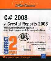 Coffret C# 2008 et Crystal Reports 2008