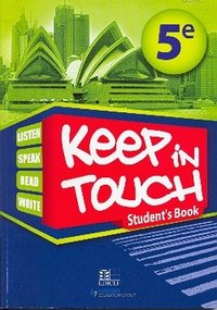 Keep in touch 5eme stuent's book senegal