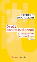 Droit constitutionnel - Tome 1
