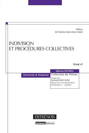 Indivision et procédures collectives