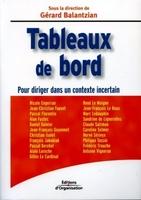 Gérard Balantzian, Collectif d'auteurs des Editions d'Organisation - Tableaux de bord
