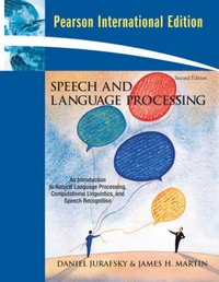 Speech and language processing 2nd ed