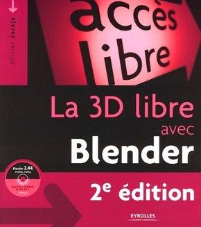 O.Saraja- La 3D libre avec Blender