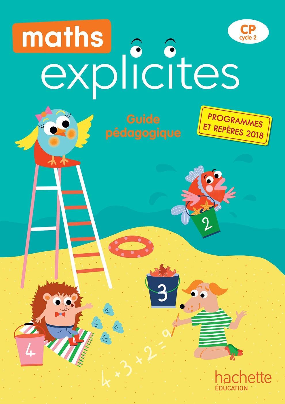 Maths explicites cp   guide pédagogique + clé usb   edition 40  ...    Librairie Eyrolles