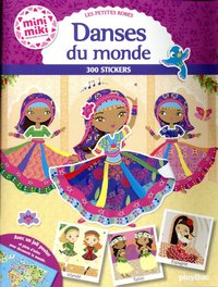 Minimiki - danses du monde - stickers