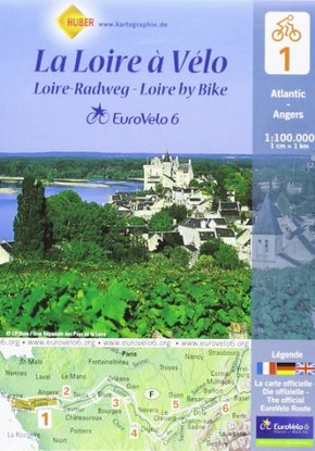 Eurovelo6 (lot de 6 cartes sous blister)