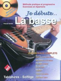 Je débute la basse plus cd
