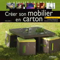 Jocelyne Marguerie, Éric Guiomar, Florence Aubry - Créer son mobilier en carton - volume 3