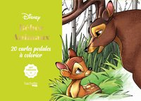 Cartes à colorier disney bébés animaux