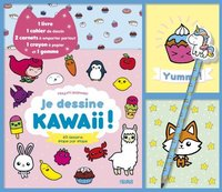 Coffret je dessine kawaii !