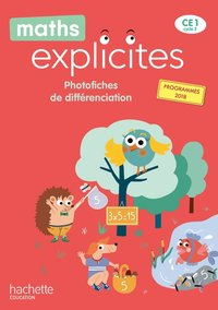 Maths explicites ce1 - photofiches - edition 2020