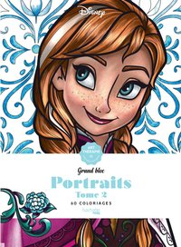 Grand bloc disney portraits