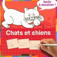 Chats Et Chiens Facile à Dessiner M Davis Librairie Eyrolles