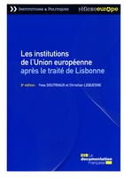 Les institutions de l'Union europeenne (8e edition)