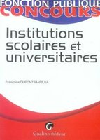 Institutions scolaires et universitaires