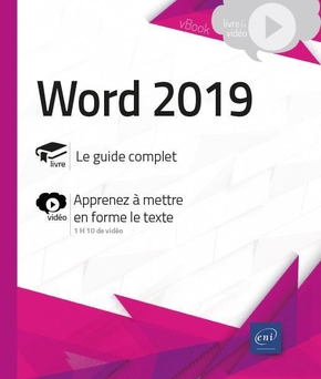 Word (versions 2019 et Office 365)
