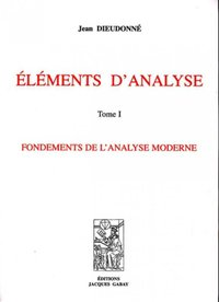 Elements d'analyse - Tome I