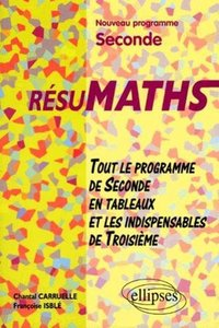 ResuMaths seconde