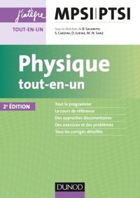 Physique : exercices incontournables MPSI-PTSI