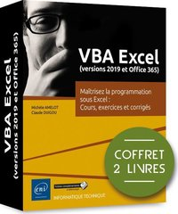 VBA Excel (versions 2019 et Office 365)