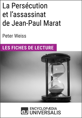 La persécution et l'assassinat de jean-paul marat de peter weiss