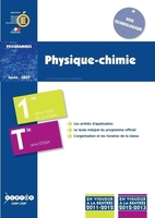 Physique/Chimie - Classes De Premiere Et Terminale Std2a, Classes De Premiere Sti2d Et Stl