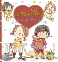 Zoé au poney club
