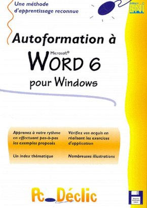 Autoformation à Word 6 pour Windows
