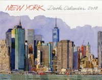 New york - desk calendar 2018