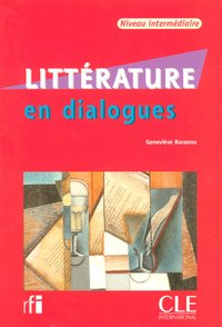 "Collection ""en dialogues"" littérature + cd audio intermidiaire"