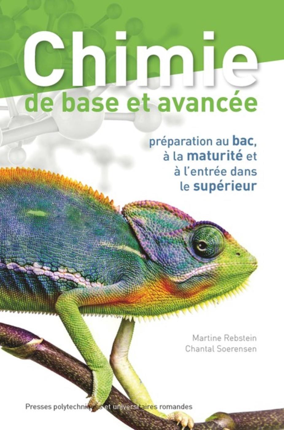 Chimie De Base Et Avancee Chantal Soerensen Martine Rebstein Librairie Eyrolles