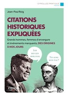 Jean-Paul Roig - Citations historiques expliquées