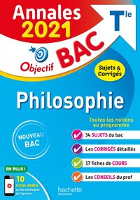 Annales bac 2021 philosophie term