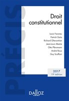 Droit constitutionnel - 2017