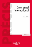 Droit pénal international (édition 2018)