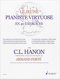 Jeune pianiste virtuose en 40 exercices piano