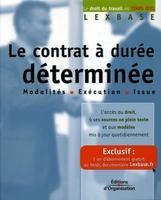 Lexbase - Le contrat a duree determinee. modalitesexecution issue
