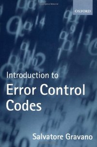 Introduction to Error Control Codes