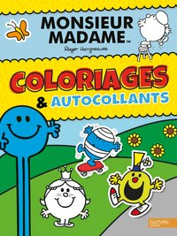 Monsieur madame-coloriages et autocollants