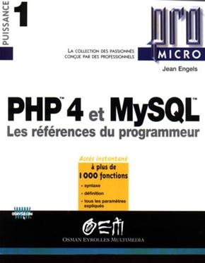 J. Engels- PHP 4 et MySQL Pro Micro