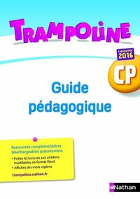 Trampoline - guide pédagogique cp + cd