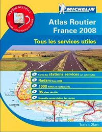 Atlas routier - France - 2008