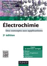 Electrochimie - Des concepts aux applications