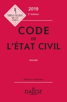Code de l'état civil - 2019