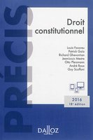 Droit constitutionnel - 2016