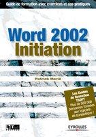 Patrick Morié - Word 2002 initiation