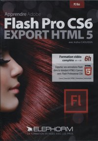 Apprendre Adobe Flash Pro CS6 - Export HTML 5