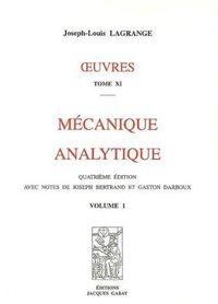 Oeuvres - Tome 11 - Mécanique analytique